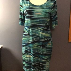 Connected apparel slimming layer dress size 16